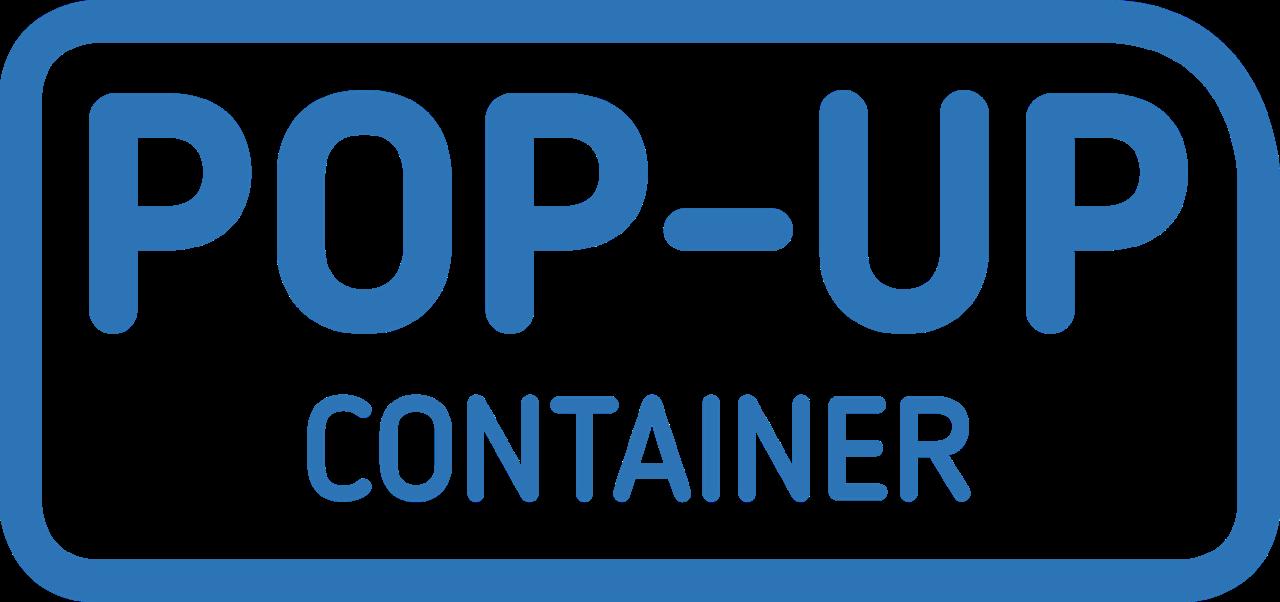 Pop-Up Container logo carousel modellen - Multiwagon