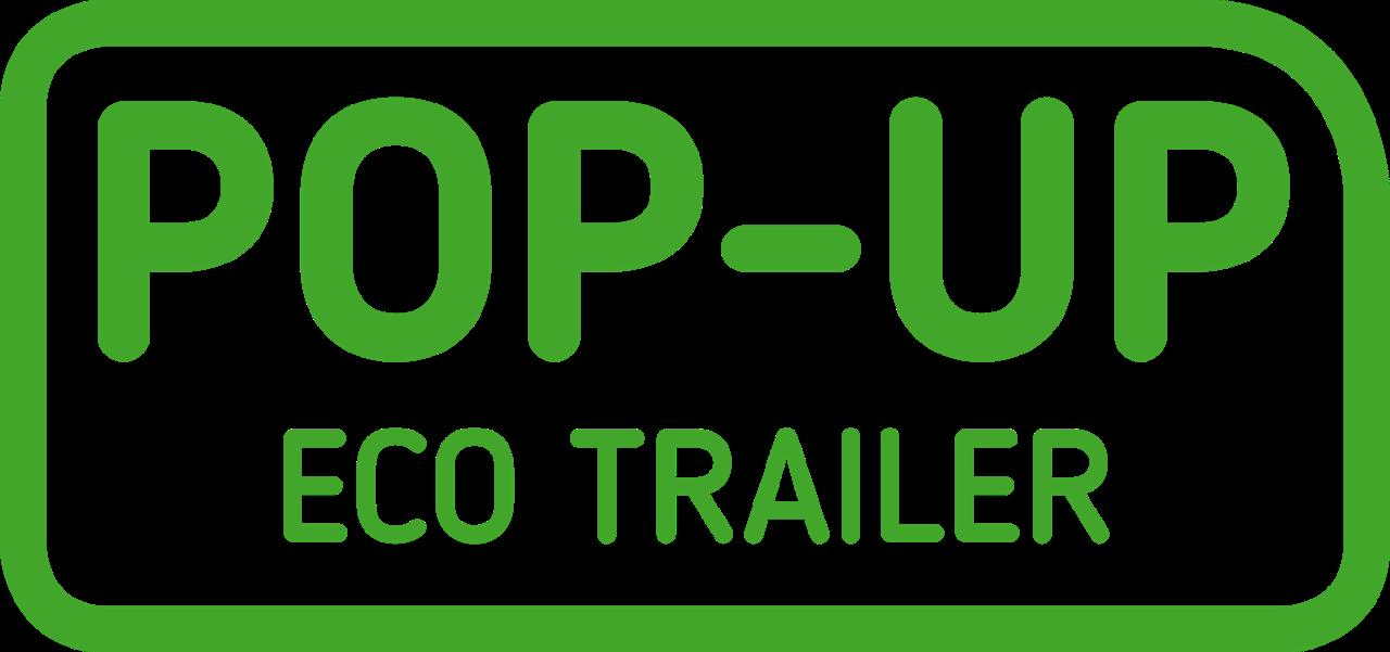 Pop-Up Eco Trailer logo carousel modellen - Multiwagon
