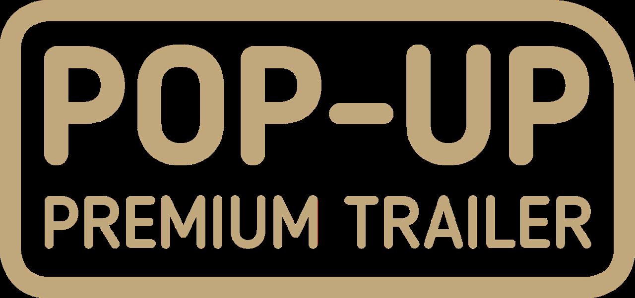 Pop-Up Premium Trailer logo carousel modellen - Multiwagon