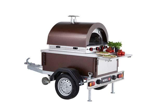 Modellen slider Pizza Trailer - Multiwagon