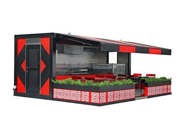 Modellen slider Pop-Up Container - Multiwagon