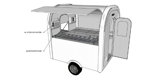 Ijs eco trailer 3D - Multiwagon