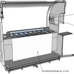 Ijs eco trailer werkbank 3D - Multiwagon