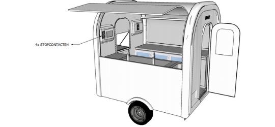 Bar eco trailer 3D - Multiwagon