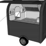 Keuken eco trailer 3D - Multiwagon