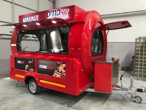 Premium Pop-Up Foodtrailer - Multiwagon
