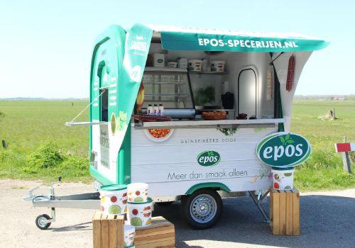 Eco Pop-Up Trailer Epos - Multiwagon