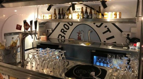 Mobiele bar van brouwerij 't IJ