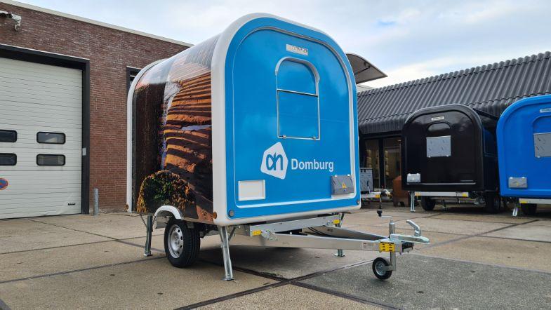 Eco trailer Albert Heijn Domburg