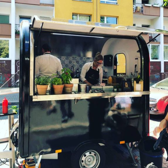 Foodtrailer Bike dogs hot dog