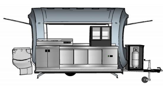 Inrichting frietwagen - Multiwagon