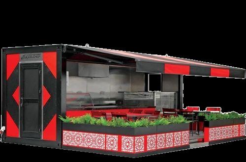 Keuken container van Multiwagon