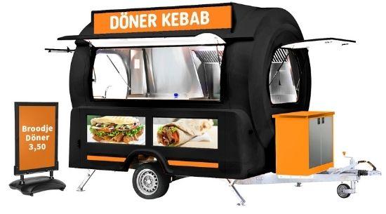 Döner kebab wagen kopen - Multiwagon