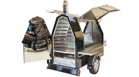 600s Grillmaster BBQ Trailer - Trailblazer Multiwagon