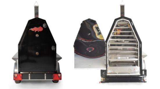 Achterkant 600s Grillmaster BBQ Trailer - Trailblazer Multiwagon