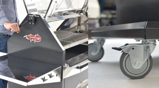 Alfresco 140 Grill barbeque - Trailblazer Multiwagon