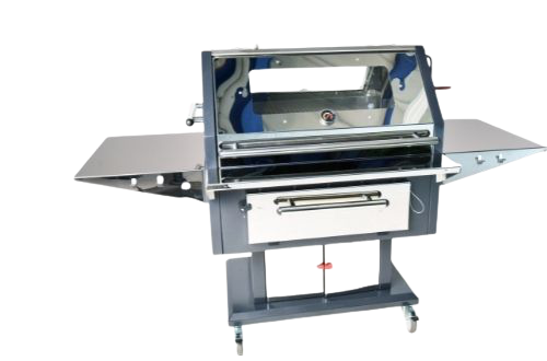 Alfresco 140 Stainless Steel Luxury Charcoal Grill BBQ