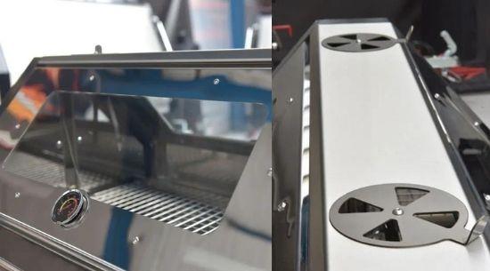 Deksel van de Alfresco 140 Grill barbeque - Trailblazer Multiwagon