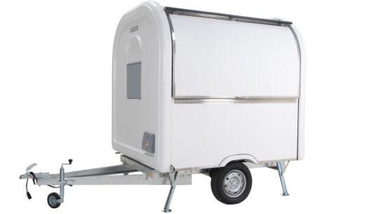 Mobiele ijswagen van Multiwagon