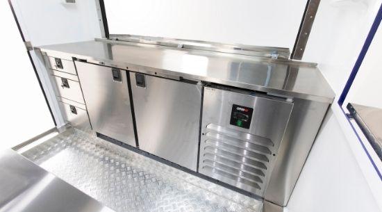 Mobiele keuken inrichting - Multiwagon