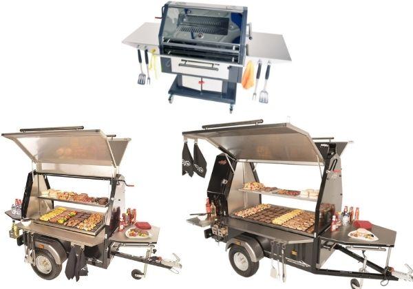 Modellen slider Trailblazer BBQ's - Multiwagon