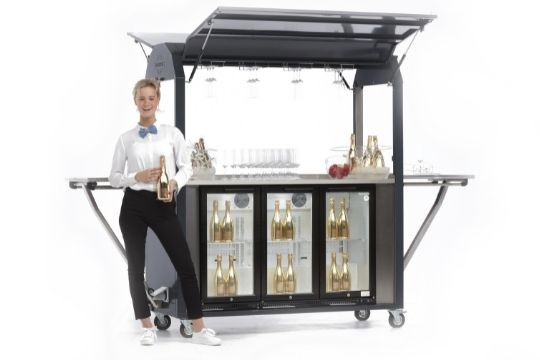 Mobiele champagne bar - Multiwagon