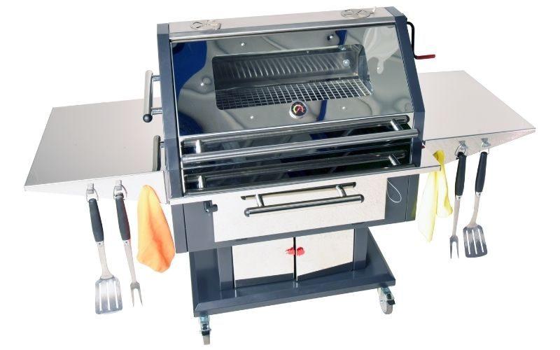Alfresco 140 Stainless Steel Luxury Charcoal Grill BBQ voorbeeld