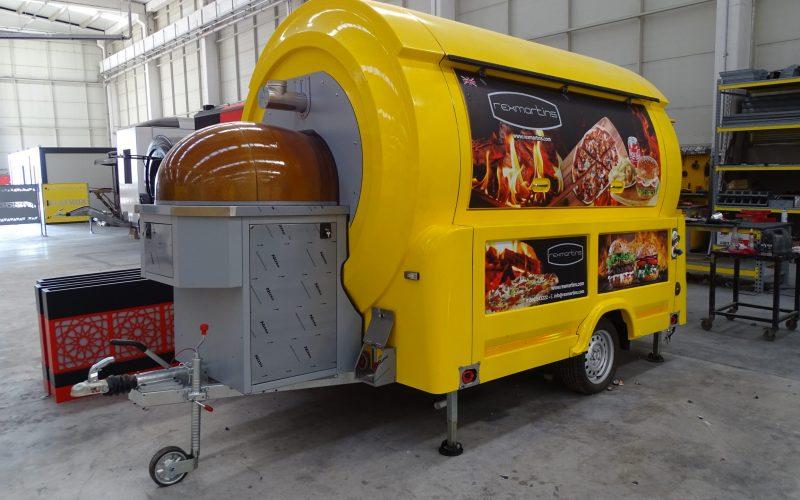 Voorbeeld pizzawagen van Multiwagon