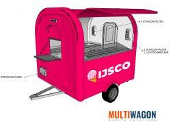 Ijswagen aanzicht 3D - Multiwagon