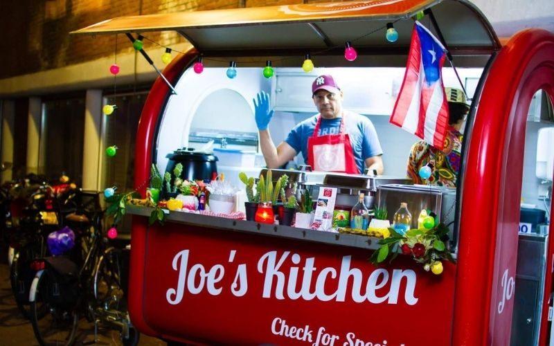Loempiakraam voorbeeld Joe's Kitchen