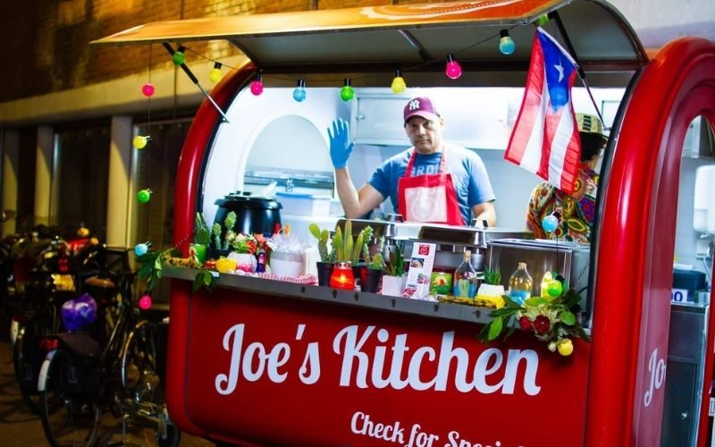 Mobiele keuken Joe's kitchen