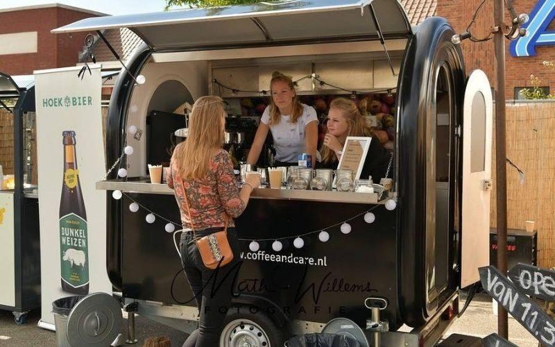 Mobiele koffiebar van Multiwagon