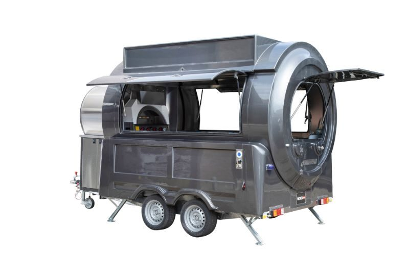 Pizzawagen en mobiele pizzeria - Multiwagon