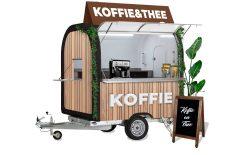Koffie en Thee wagen concept eco pop-up - Multiwagon