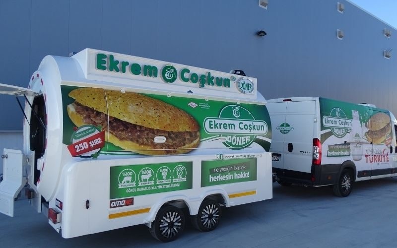 Voorbeeld döner kebab wagen - Multiwagon